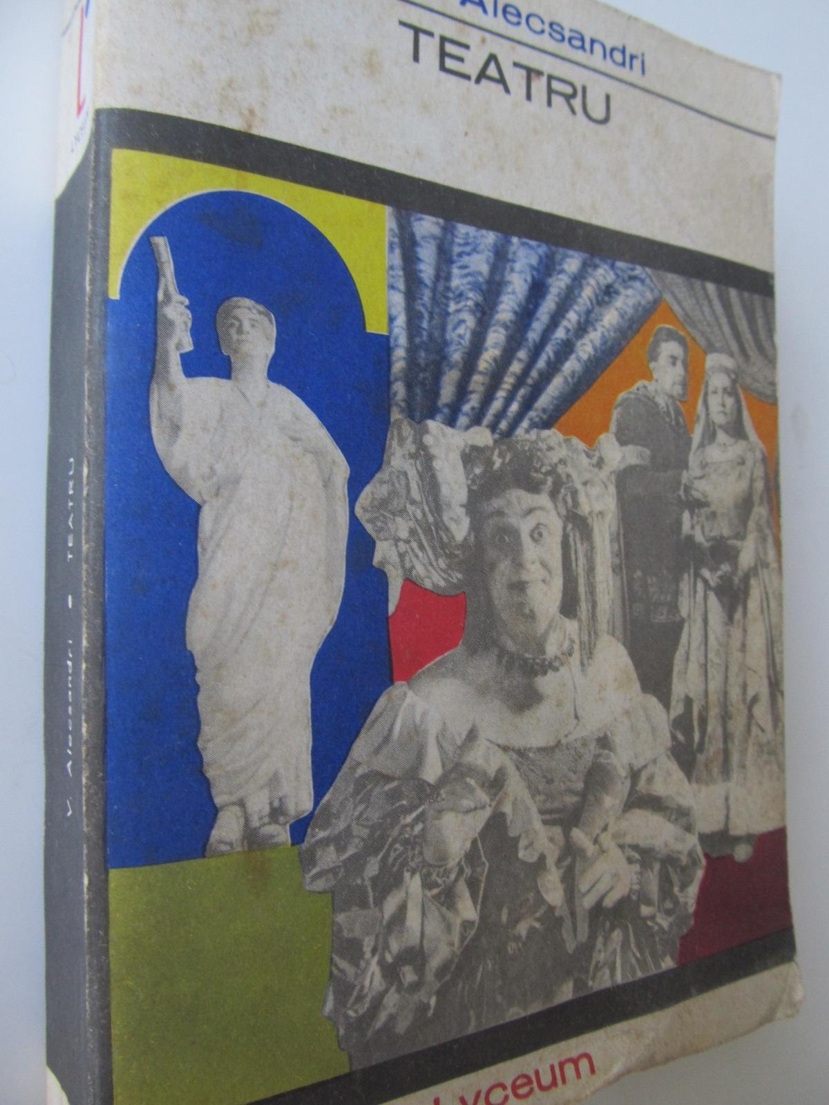 Teatru - V. Alecsandri | Detalii carte