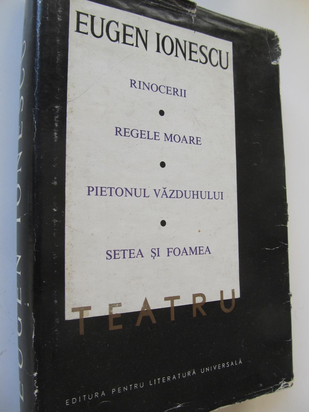 Teatru (vol. II) - Eugen Ionescu | Detalii carte