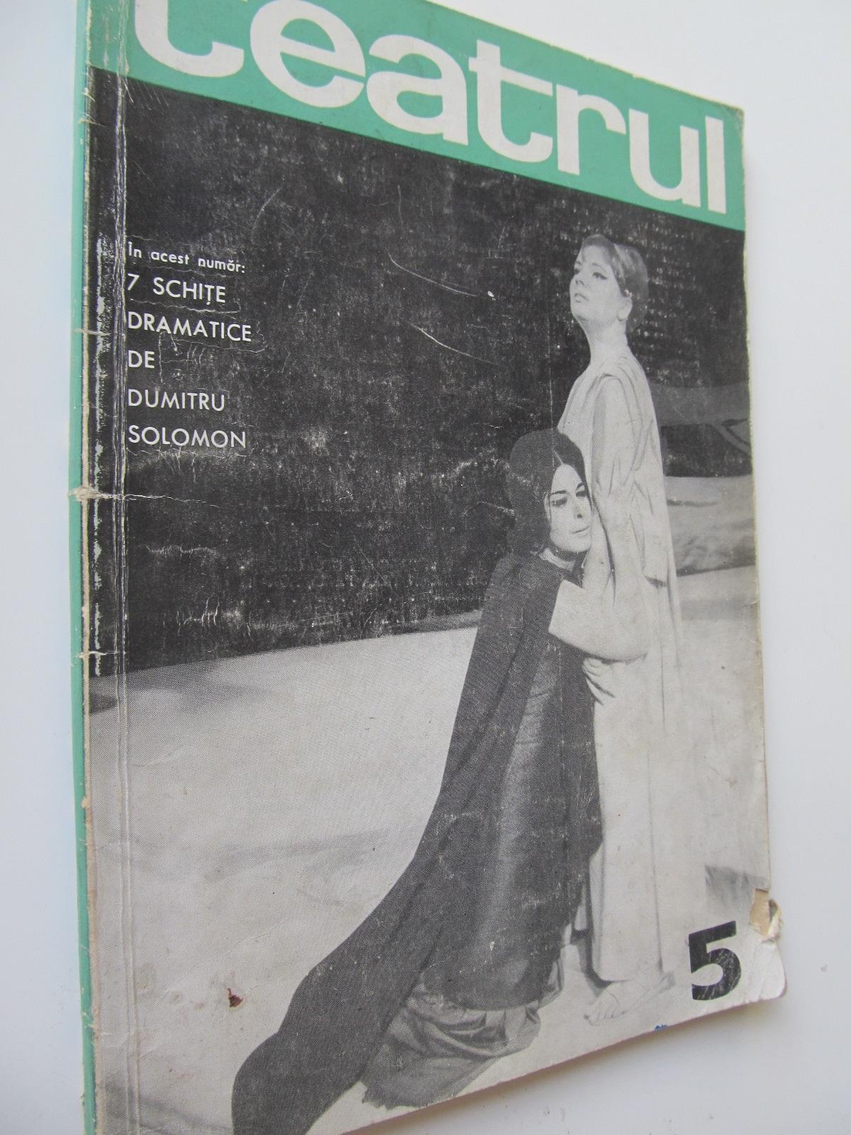 Carte Teatrul 5 / 1966 - ***