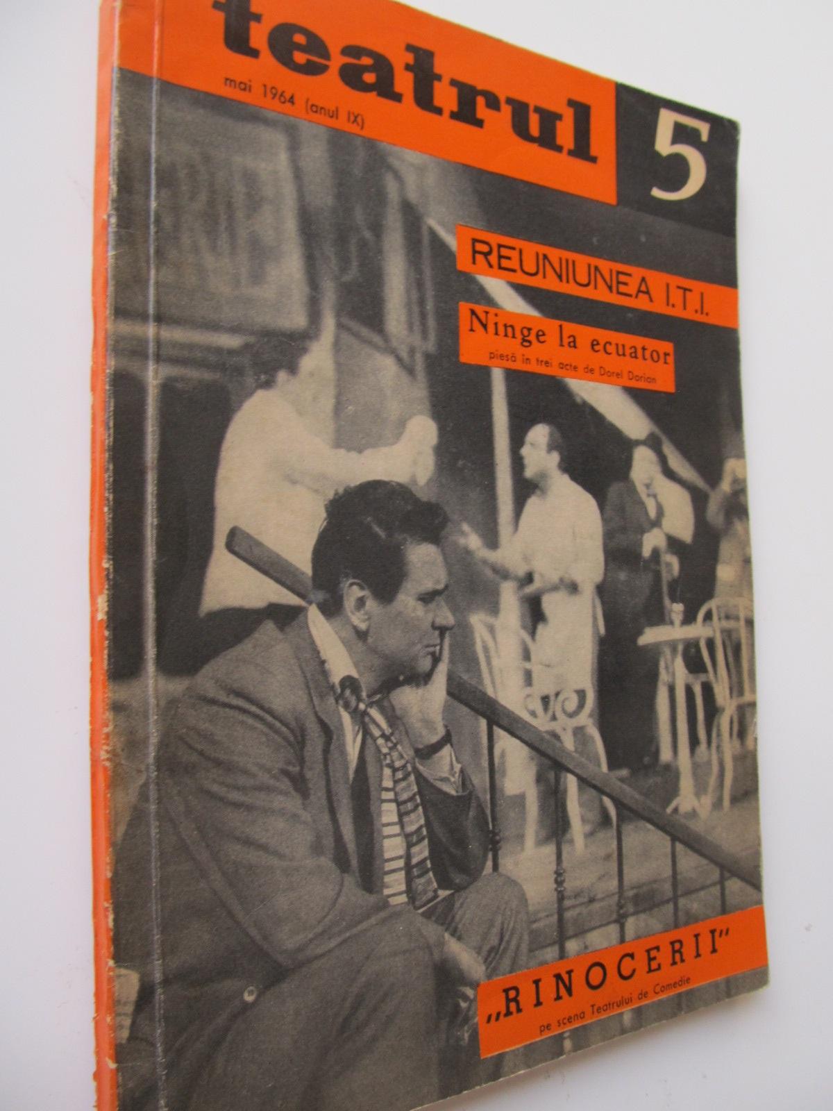 Teatrul 5 / 1964 - *** | Detalii carte
