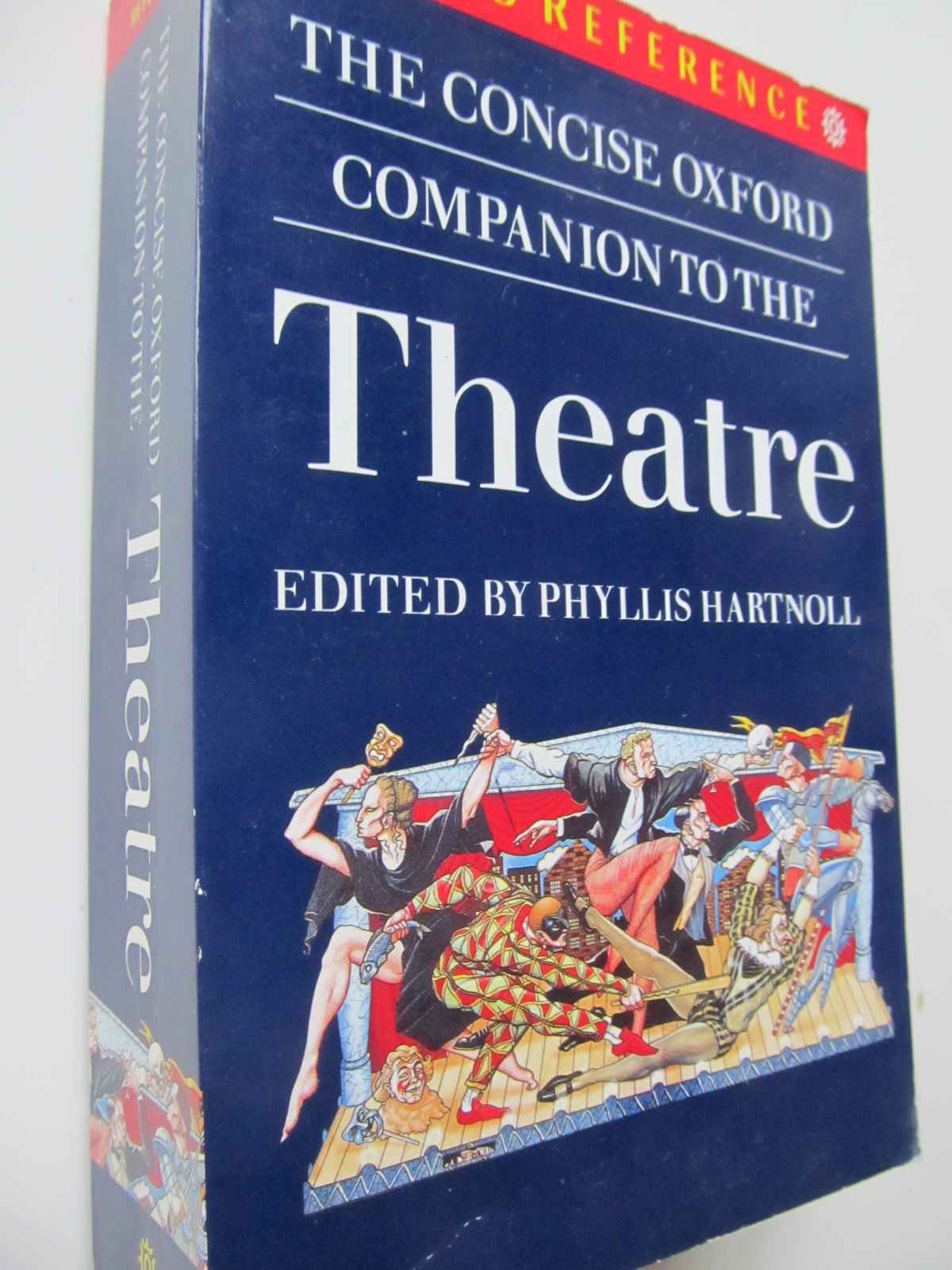 The concise Oxford companion to the Theatre - *** | Detalii carte