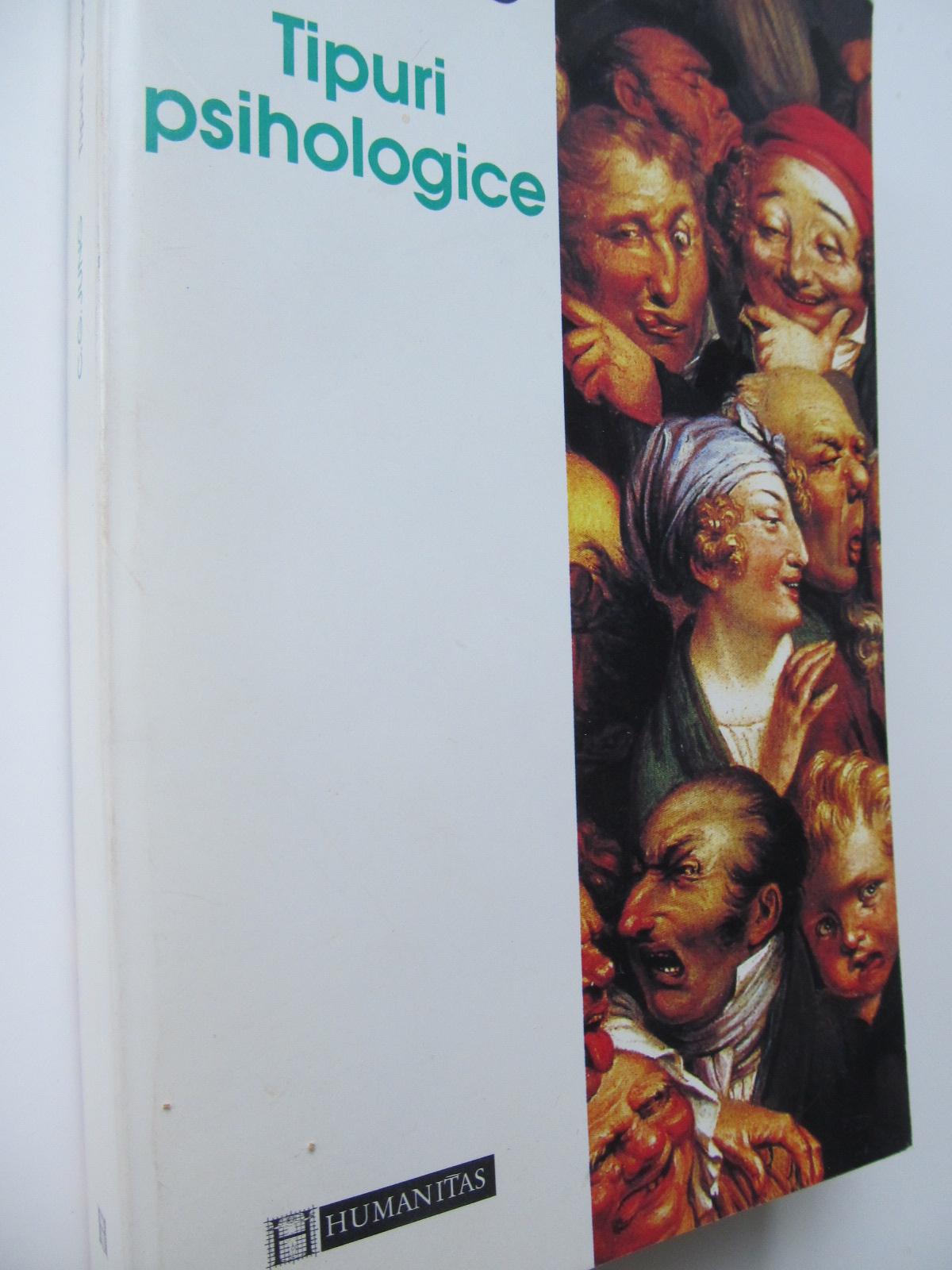 Tipuri psihologice - C. G. Jung | Detalii carte