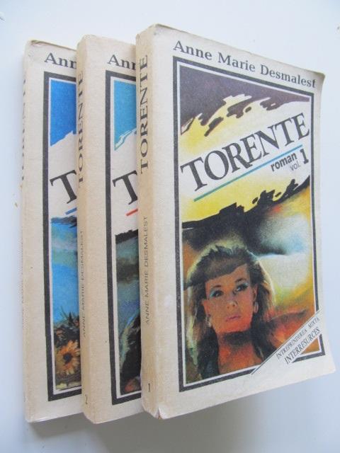 Torente (3 vol.) - complet - Marie Anne Desmartes | Detalii carte