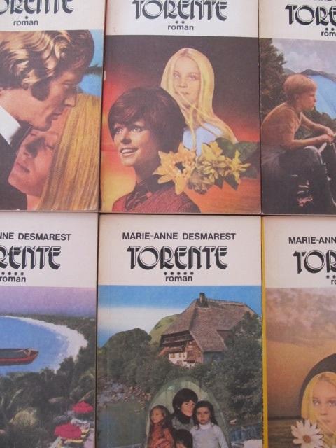 Torente (6 vol.) - complet - Marie-Anne Desmarest | Detalii carte