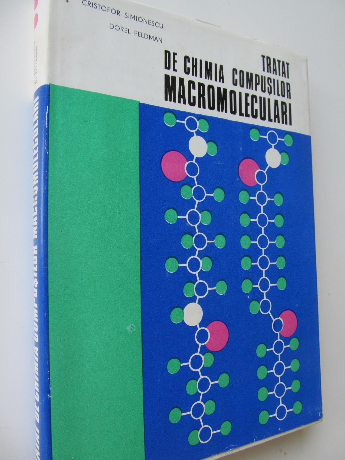 Tratat de chimia compusilor macromoleculari (vol. II) - Cristofor Simionescu ,Dorel Feldman | Detalii carte