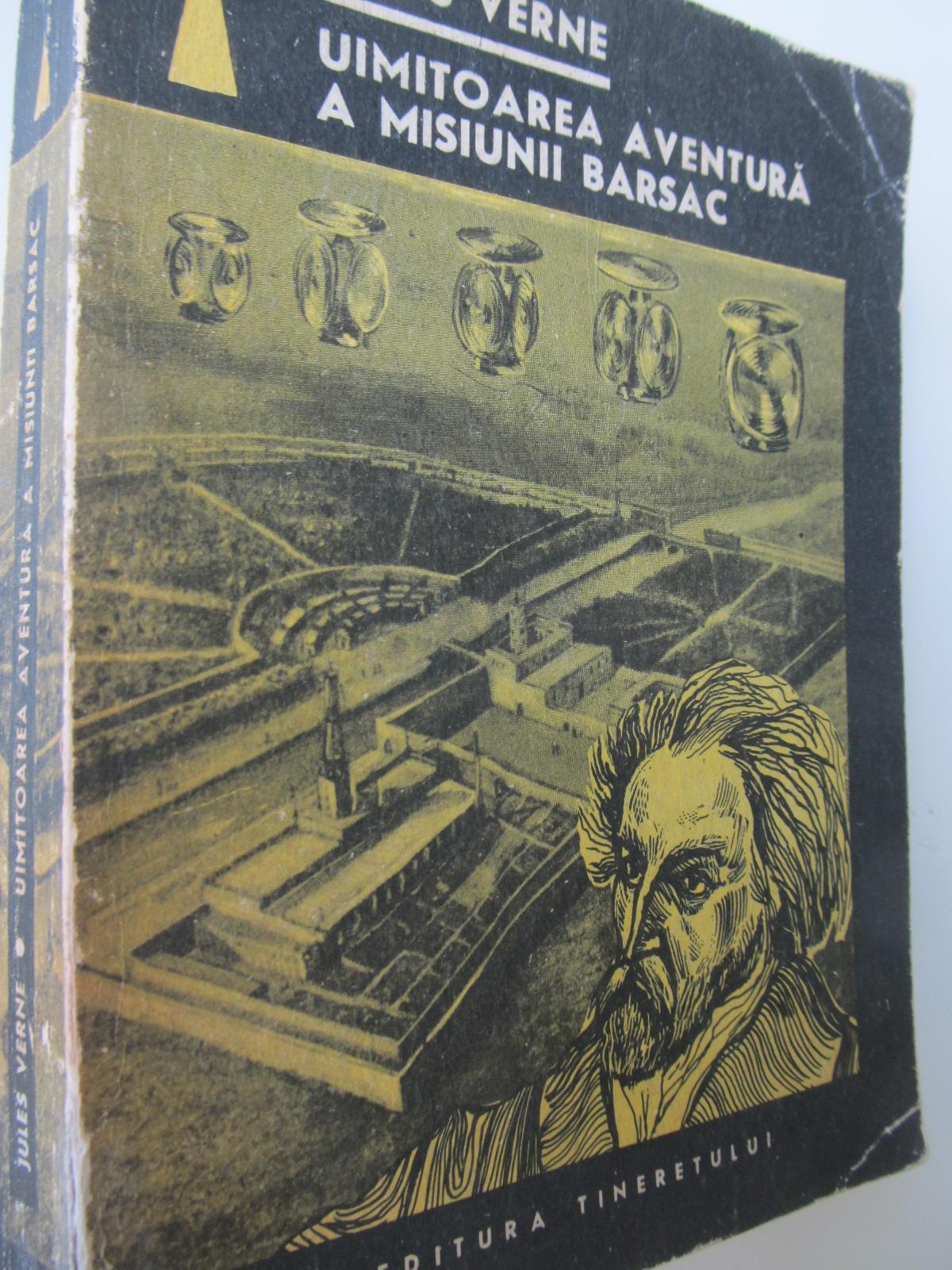 Uimitoarea aventura a misiunii Barsac - Jules Verne | Detalii carte
