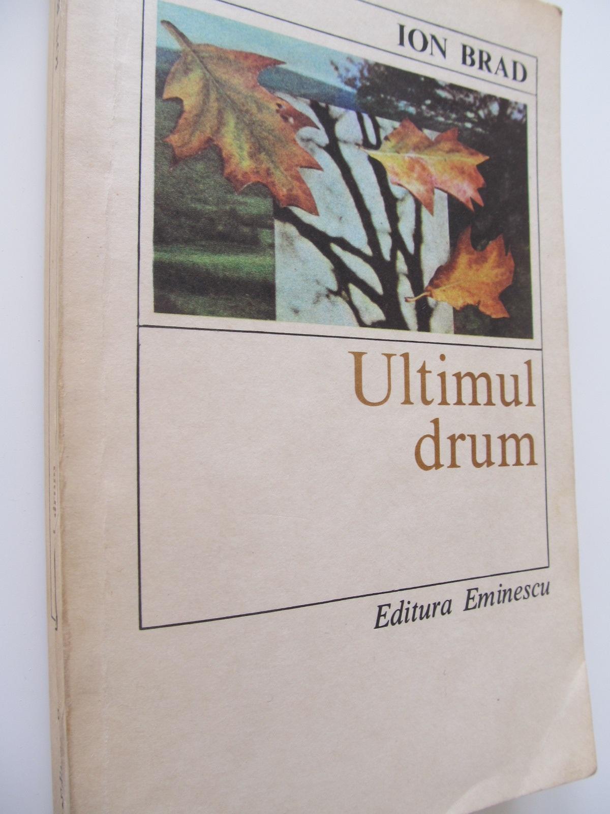 Ultimul drum - Ion Brad | Detalii carte