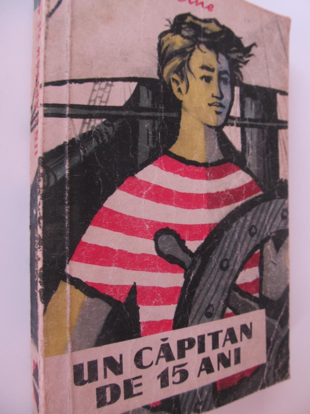 Un capitan de 15 ani - Jules Verne | Detalii carte