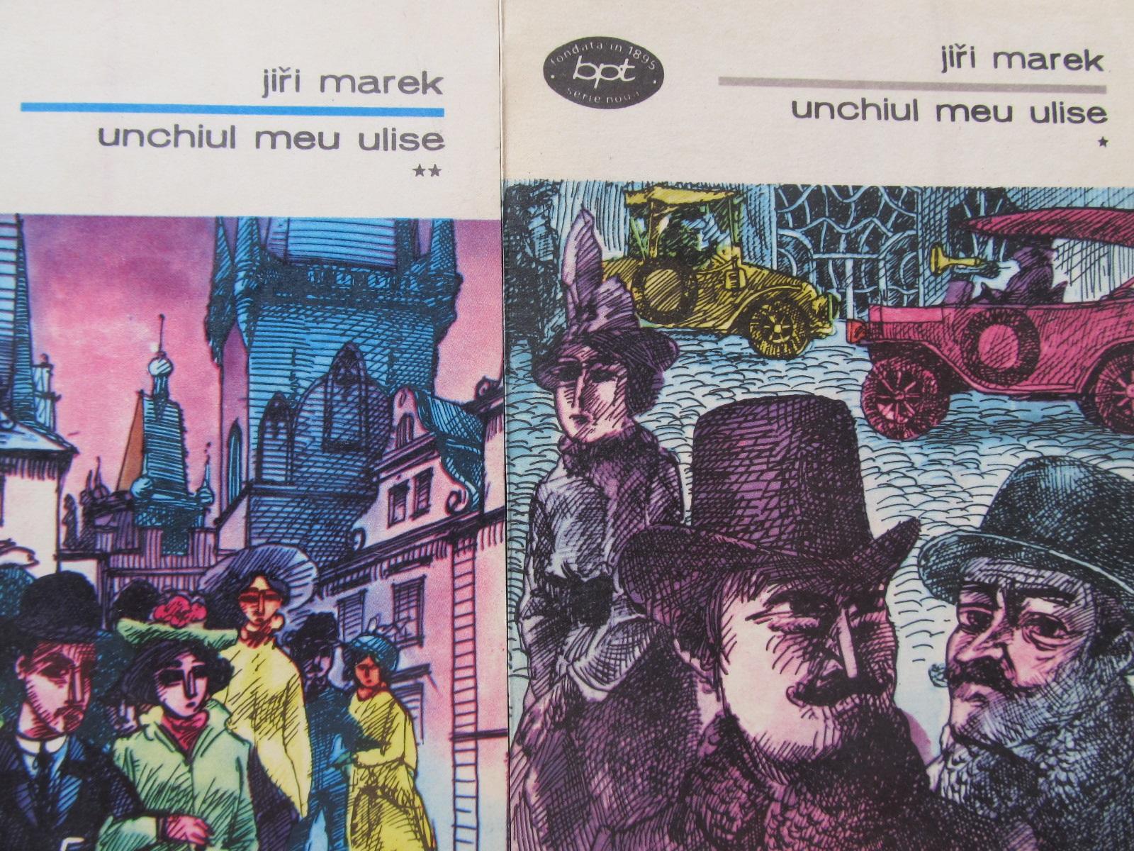 Unchiul meu Ulise (2vol.) - Jiri Marek | Detalii carte