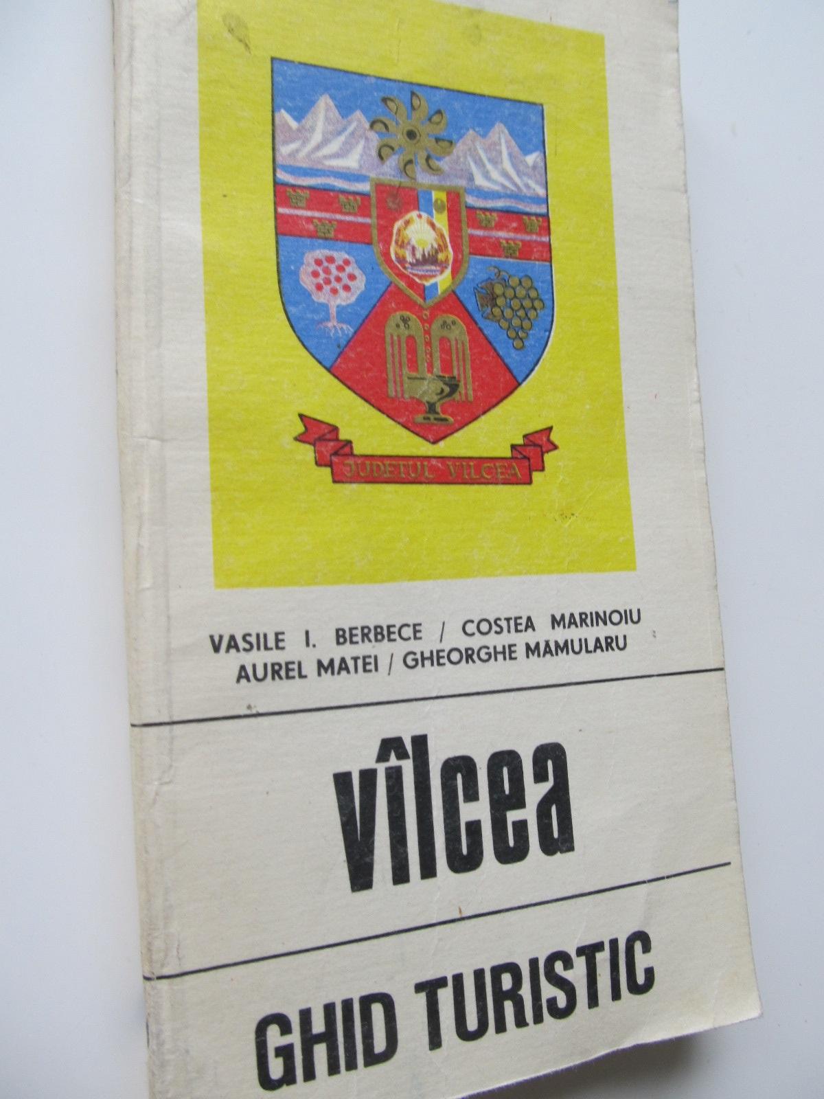 Valcea - Ghid turistic al judetului (cu harta) - Vasile I. Berbece , Costea Marinoiu , .. | Detalii carte