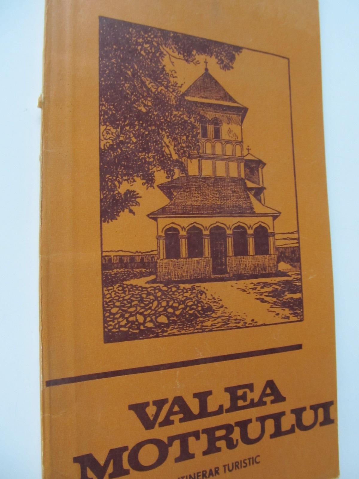 Valea Motrului - Itinerar turistic - Ion Al. Florescu | Detalii carte