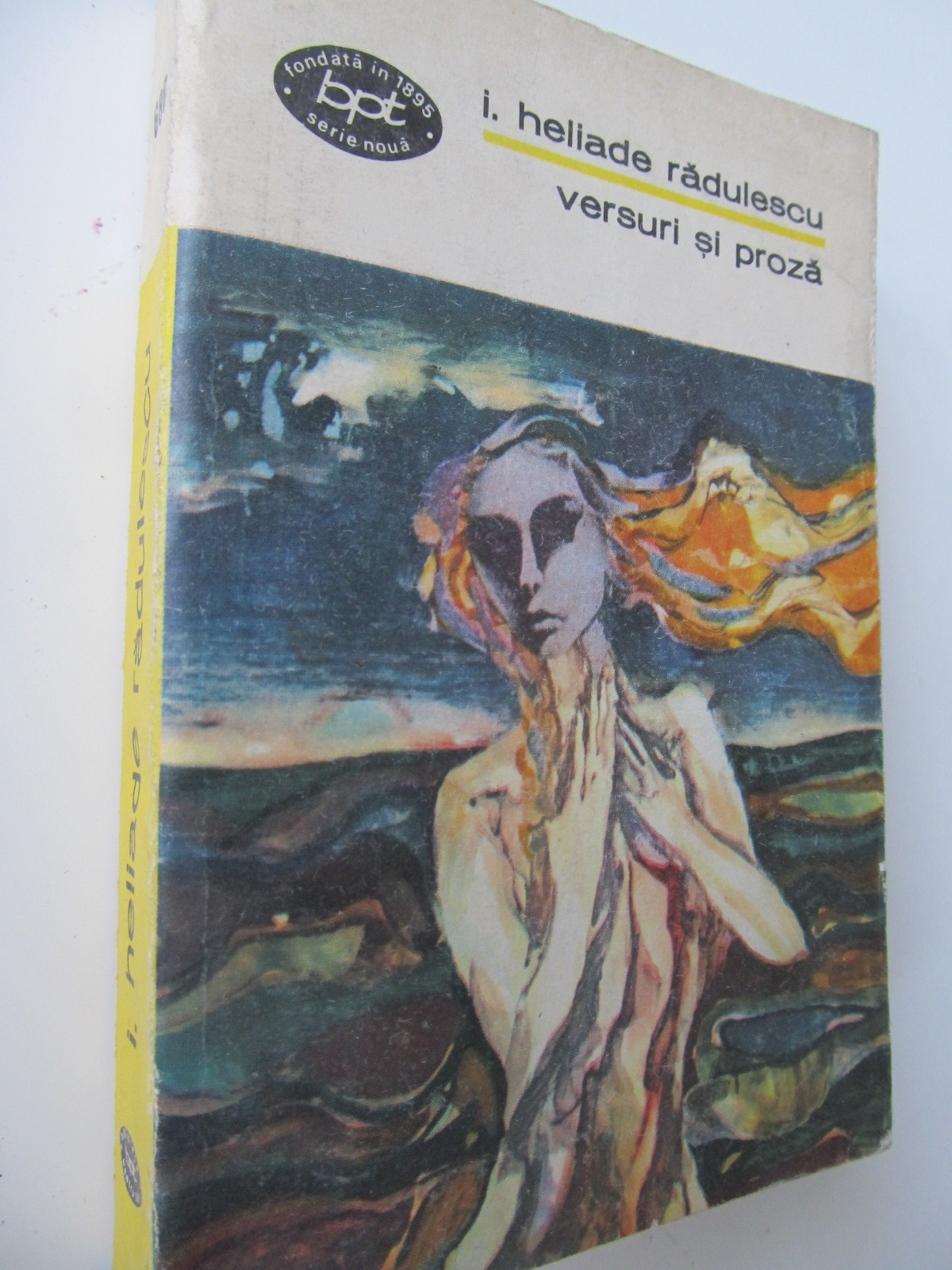 Versuri si proza - I. Heliade Radulescu | Detalii carte