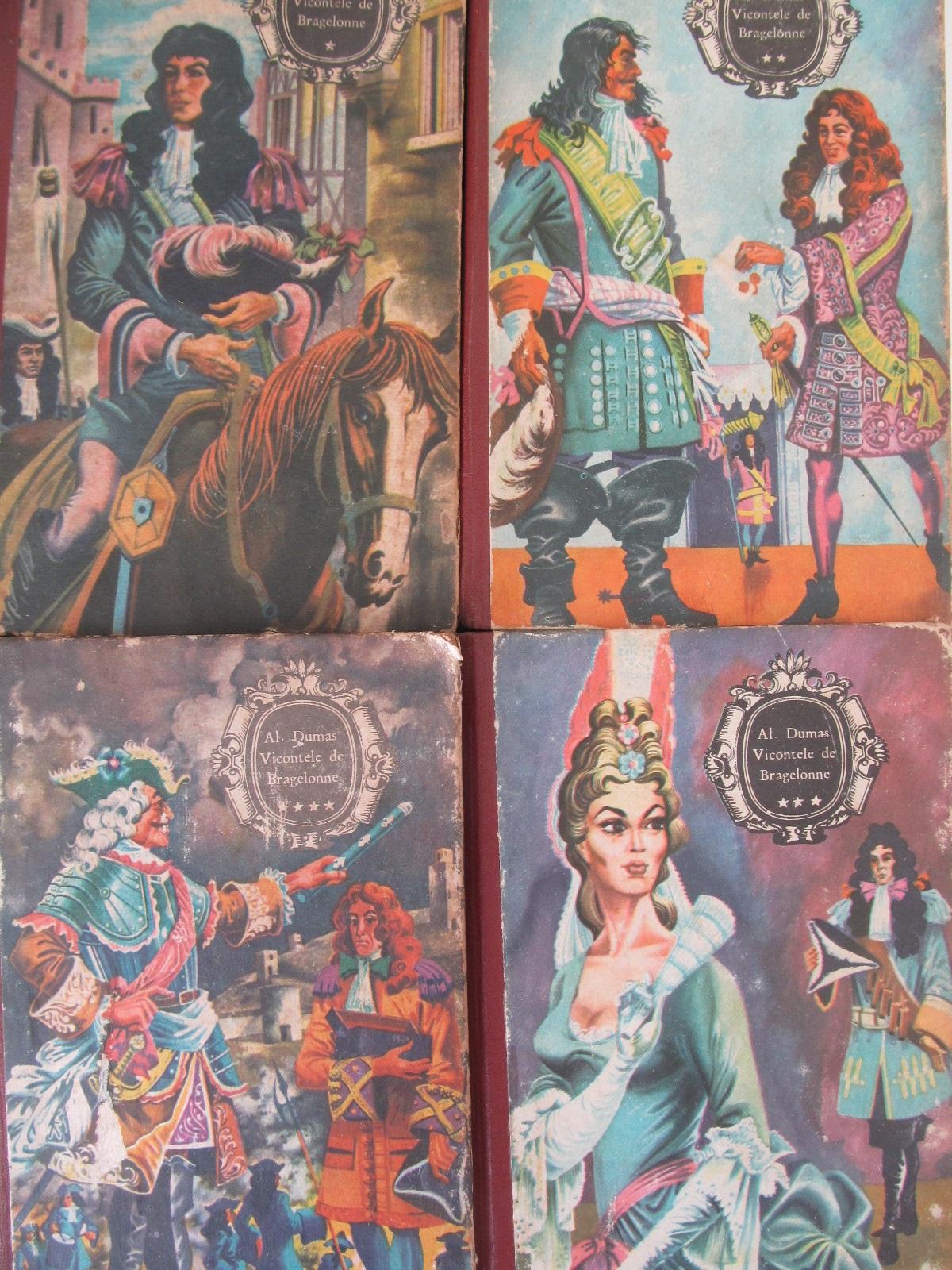 Vicontele de Bragelonne (4 vol.) - Alexandre Dumas | Detalii carte