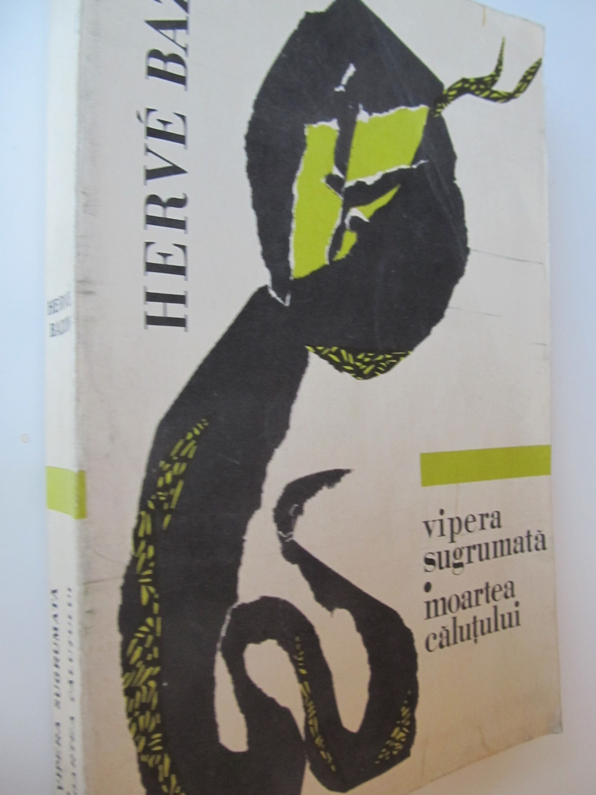 Vipera sugrumata - Moartea calutului - Herve Bazin | Detalii carte