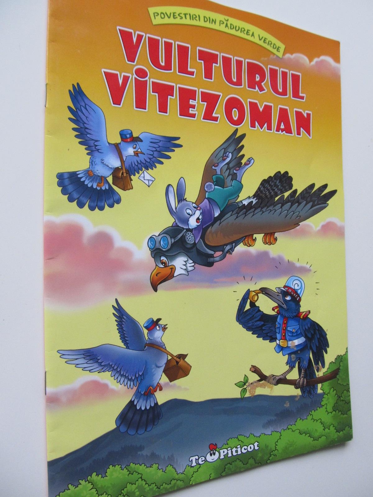 Vulturul vitezoman (format foarte mare) - Claudia Cojocaru | Detalii carte