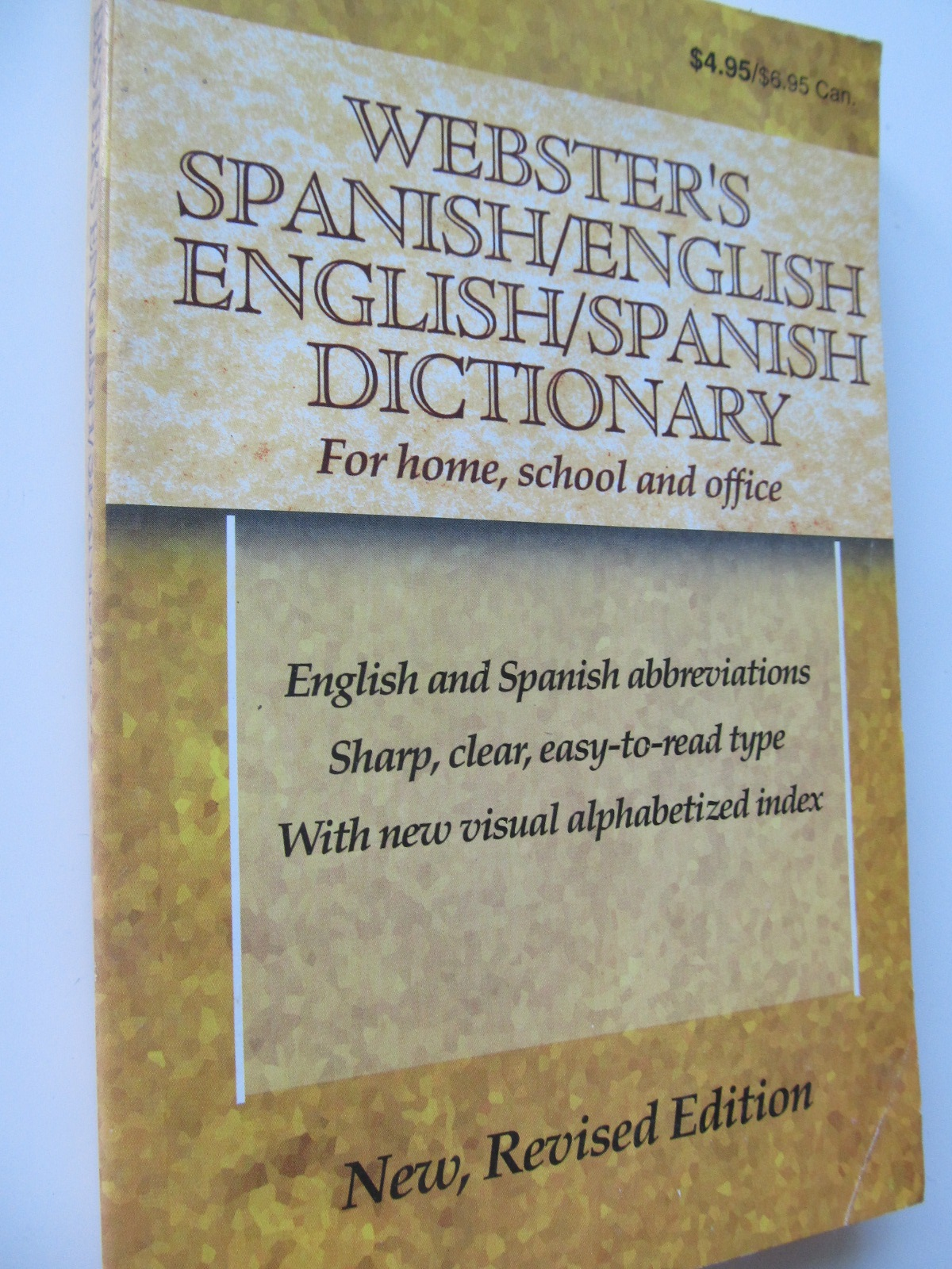 Webster's Spanish/English , English/Spanish dictionary - *** | Detalii carte