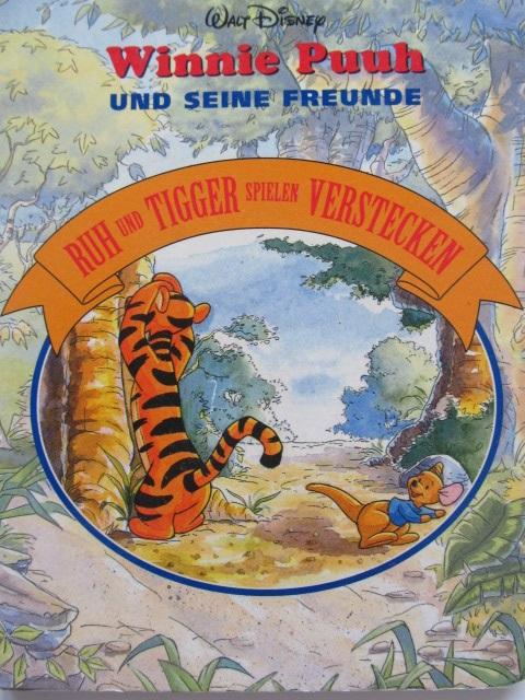 Winnie Puuh und seine Freunde - Ruh und Tigger spielen Verstecken - pagini carton gros - Walt Disney | Detalii carte