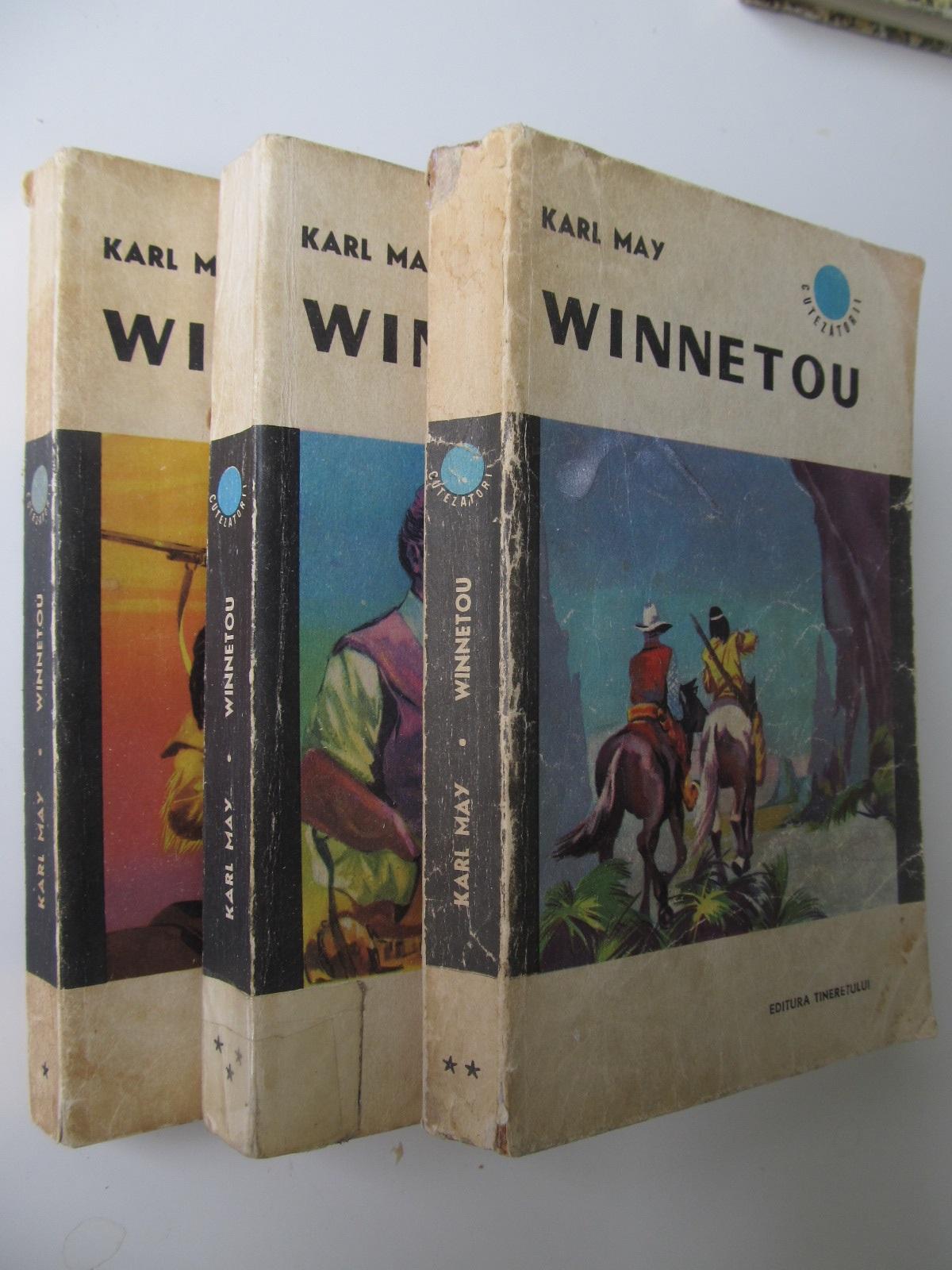 Winnetou (3 vol.) - complet - Karl May | Detalii carte