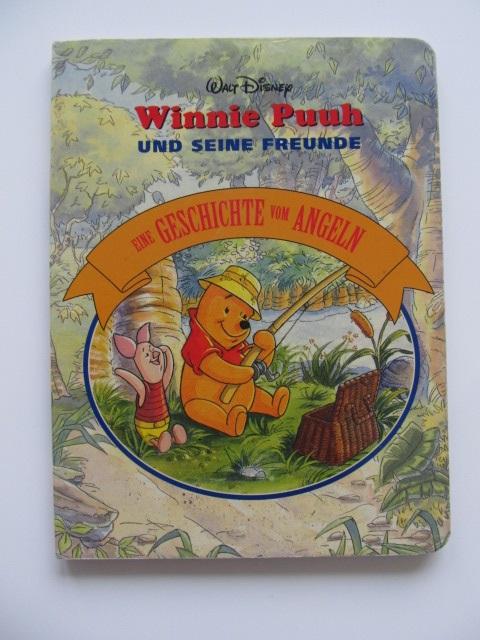 Winnie Puuh und seine Freunde - Eine Geschichte vom Angeln - pagini carton gros - Walt Disney | Detalii carte