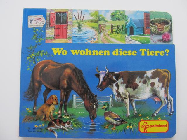 Wo wohnen diese Tiere ? - pagini carton gros - *** | Detalii carte