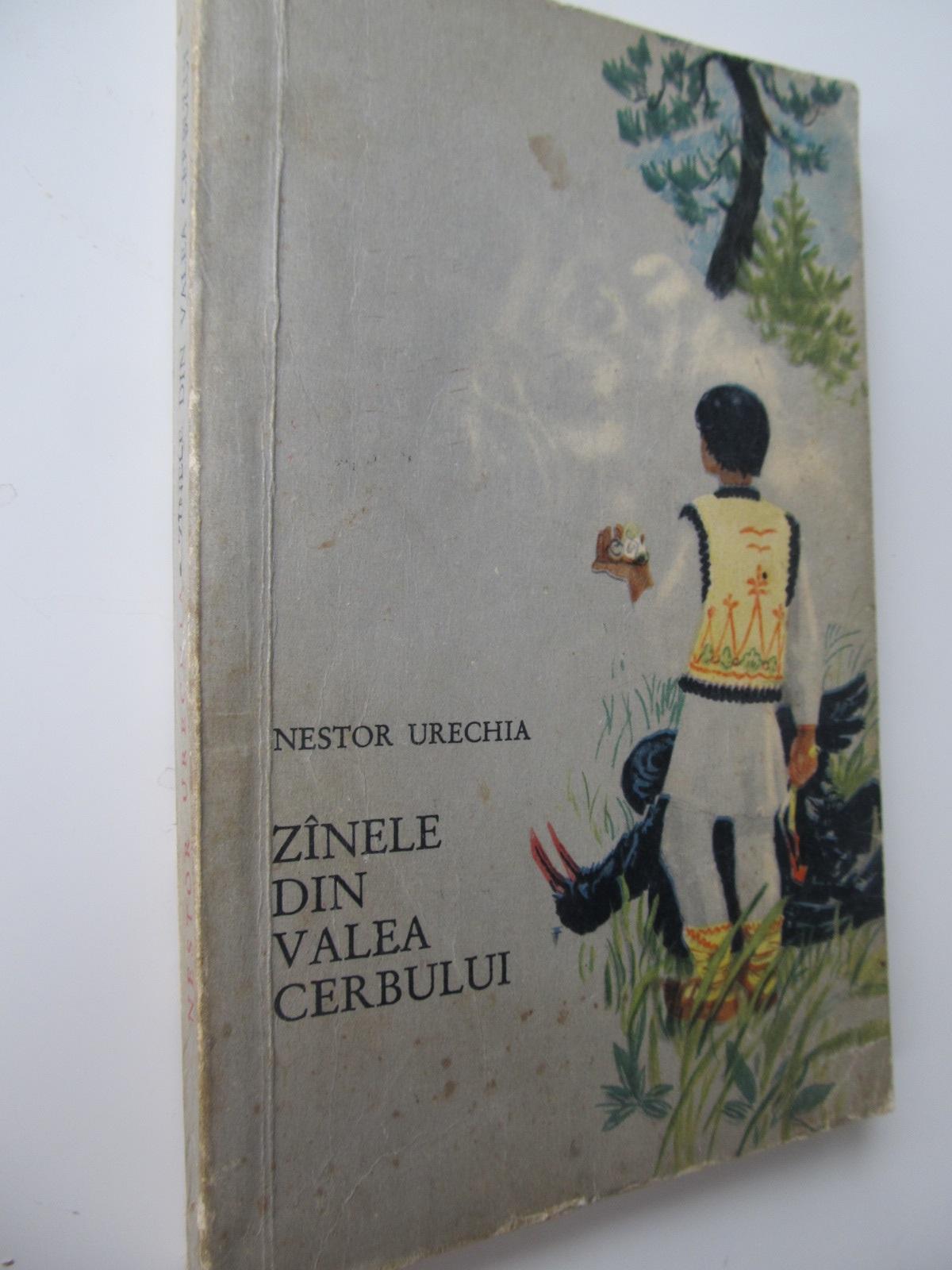 Zanele din Valea Cerbului (ilustr. Petre Hagiu) - Nestor Urechia | Detalii carte
