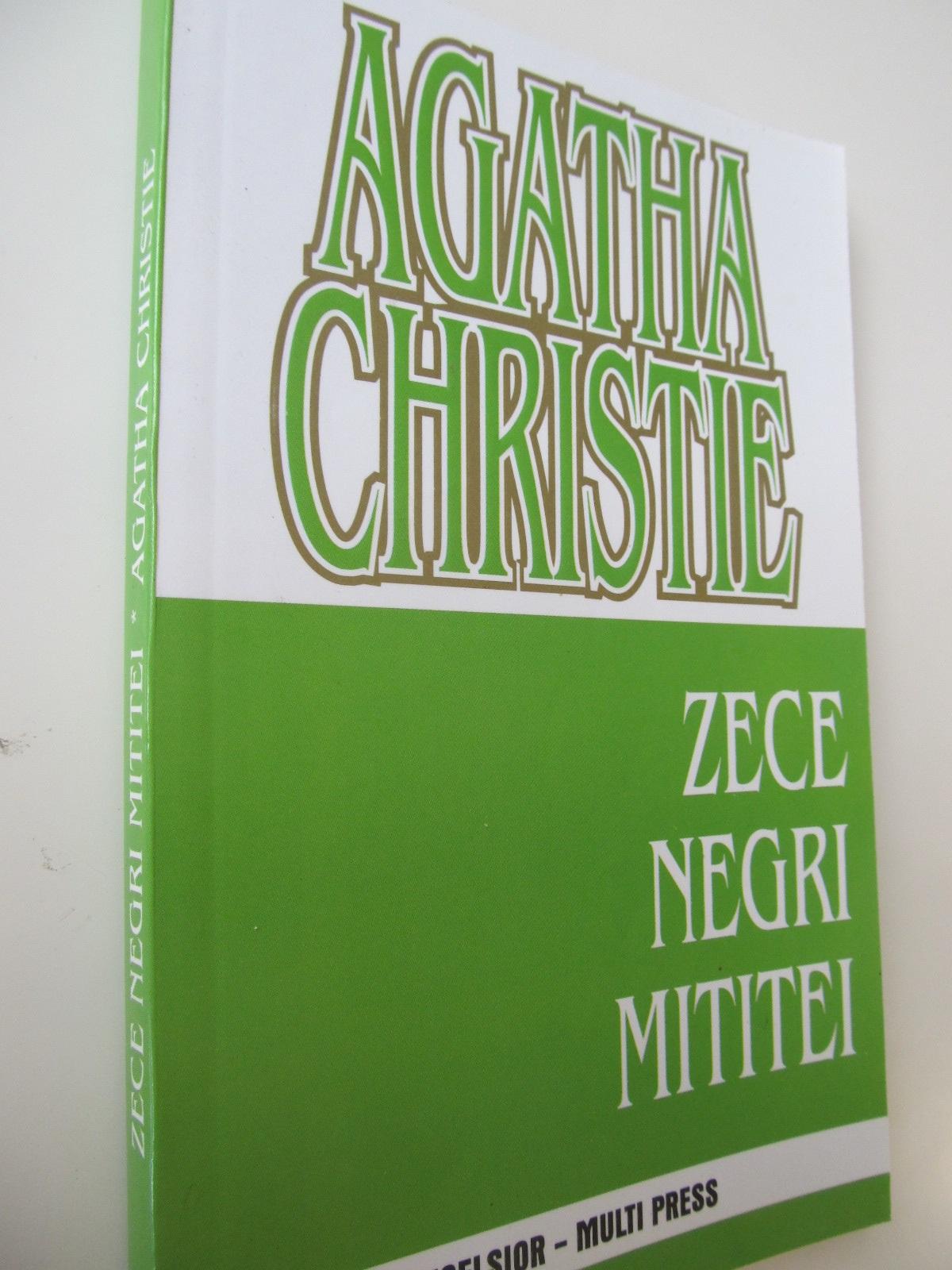 Zece negri mititei - Agatha Christie | Detalii carte