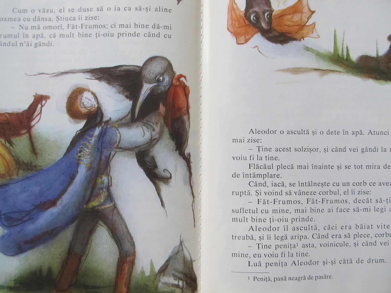 Carte Aleodor imparat (ilus. Adriana Mihailescu) - Petre Ispirescu