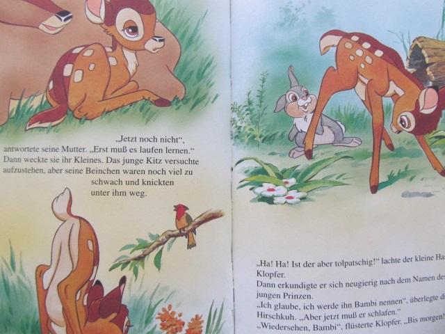 Carte Bambi - Walt Disney