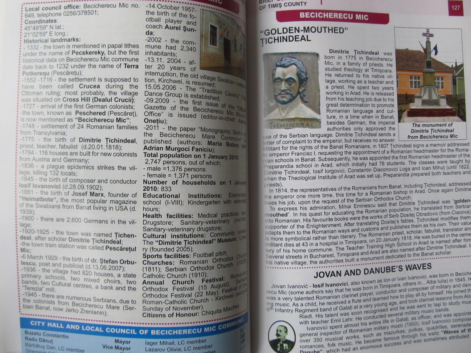 Carte Brief guide of Timis County (Ghid judet Timis) - Dinu Barbu