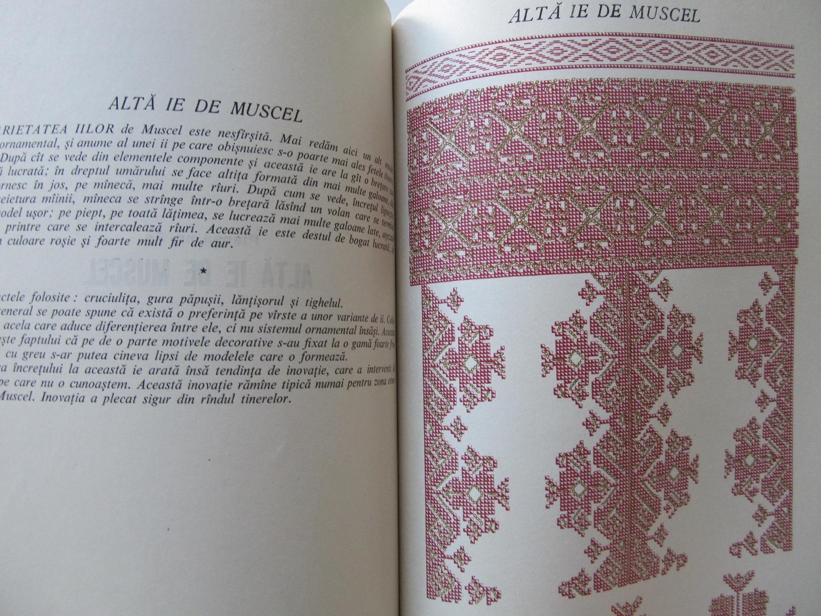 Carte Broderiile la romani , 1959 - Elena Avramescu , Florea Bobu Florescu