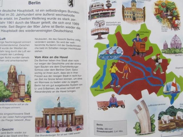 Carte Deutschland - Atlas fur Kinder - Michael Holtmann
