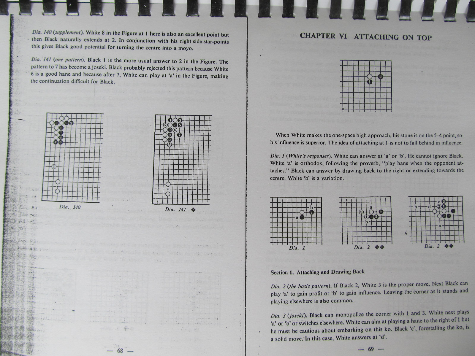 Carte Dictionary of basic Joseki , Vol. 2 - The 3-4 point , The 5-3 point (Carte de Go xeroxata) - Yosihio Ishida