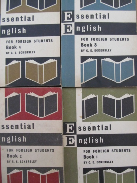 Carte Essential English - for Foreign Students (4 vol,) - C. E. Eckersley