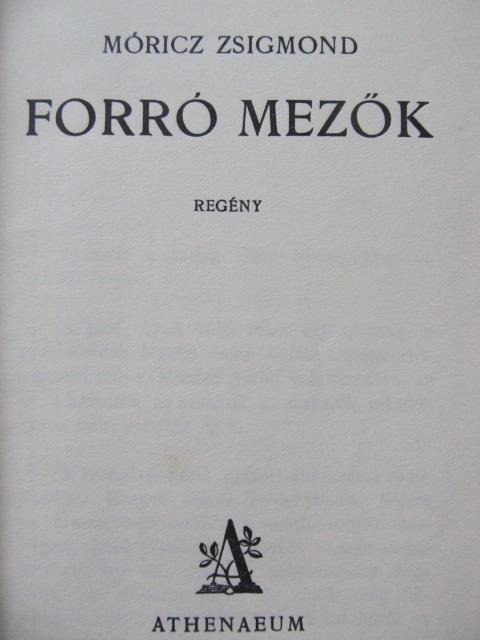 Carte Forro mezok - Moricz Zsigmond