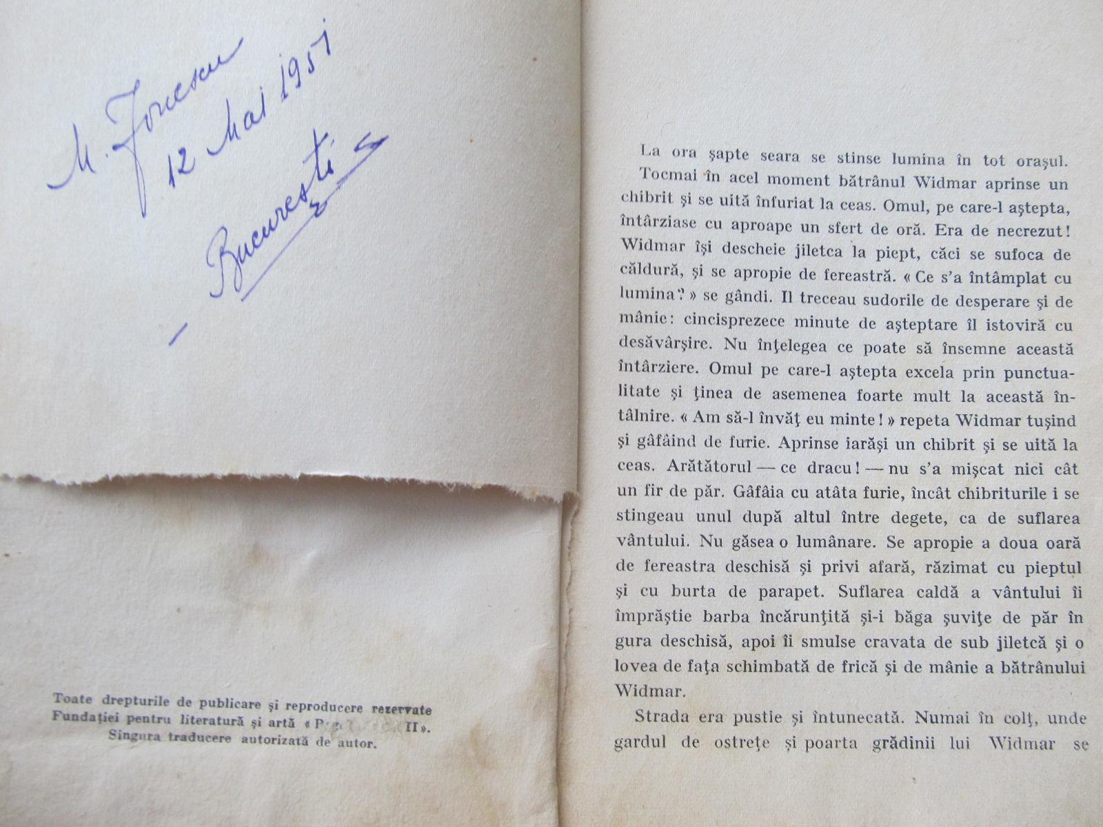 Carte Gelozie si medicina , 1935 - Mihai Choromanski