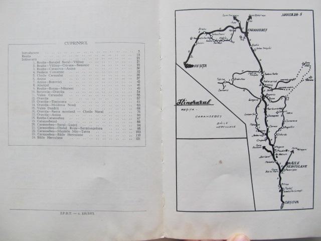 Carte Ghid turistic al judetului Caras Severin - Marius Bizeria