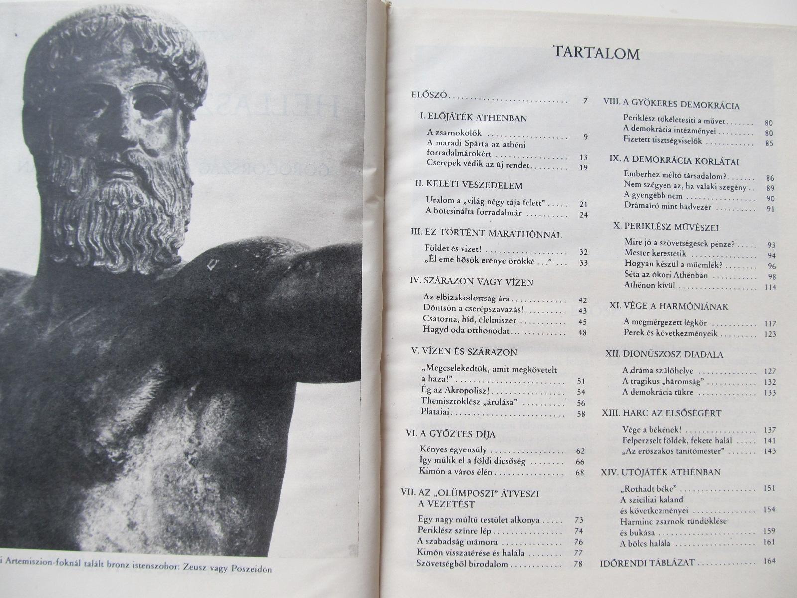 Carte Hellasz fenykora - Gorogorsag az I. E. V. szazadban - Szabo Miklos