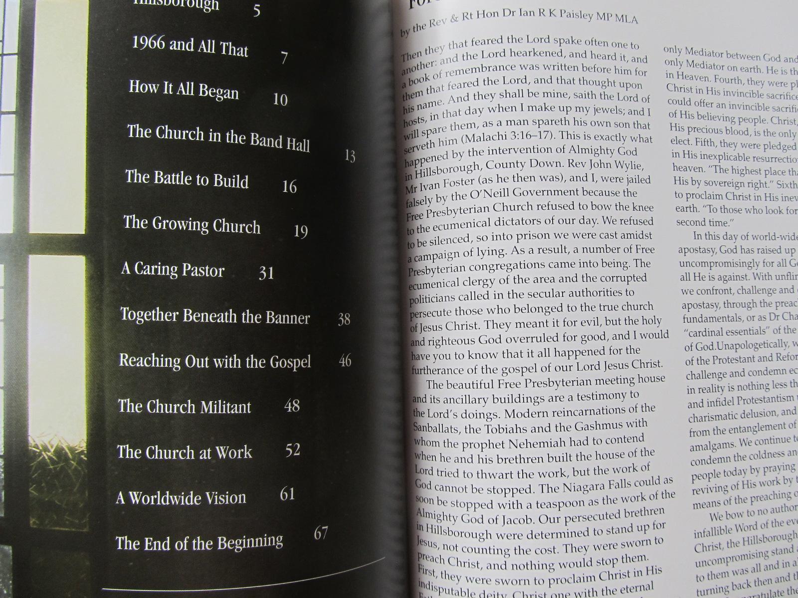 Carte Hillsborough free presbyterian church - ***