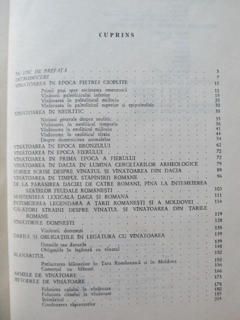 Carte Istoria vanatorii in Romania (cu supracoperta) [1] - Ion Nania
