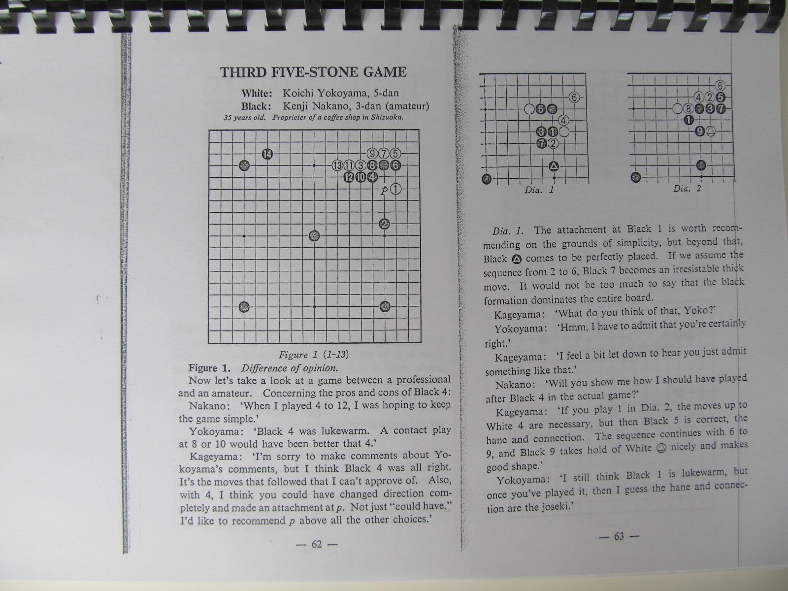 Carte Kage's secret chronicles of handicap Go (Carte de Go xeroxata) - Todhiro Kageyama