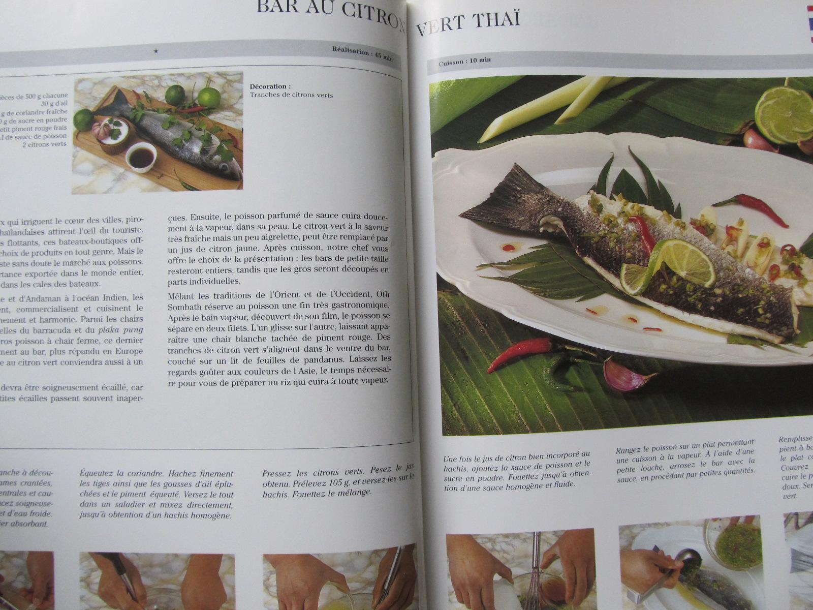 Carte Le monde des delices Les poissons (retete de peste din toata lume) - format foarte mare - ***