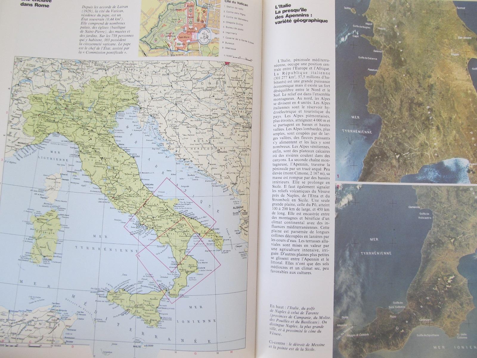 Carte Nouvel Atlas mondial - ***