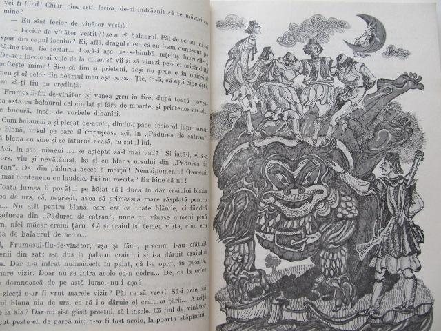 Carte Povesti de la miazazi - pe motive din basme aromane (ilustr. Ion Panaitescu) - Hristu Candroveanu