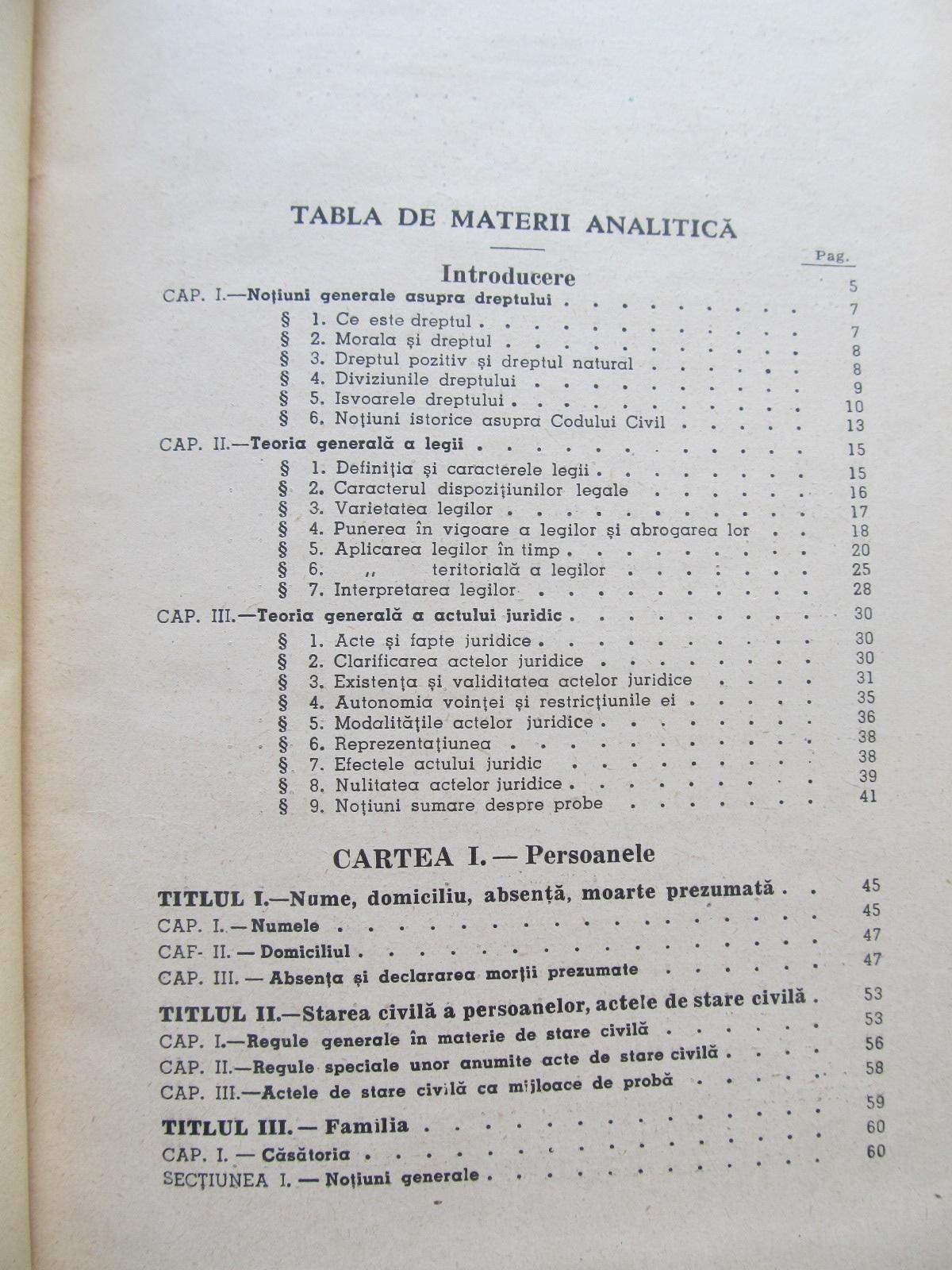 Carte Principiile dreptului civil roman , 1947 - I. Rosetti Balanescu , Ovid sachelarie , Nic. Nedelcu