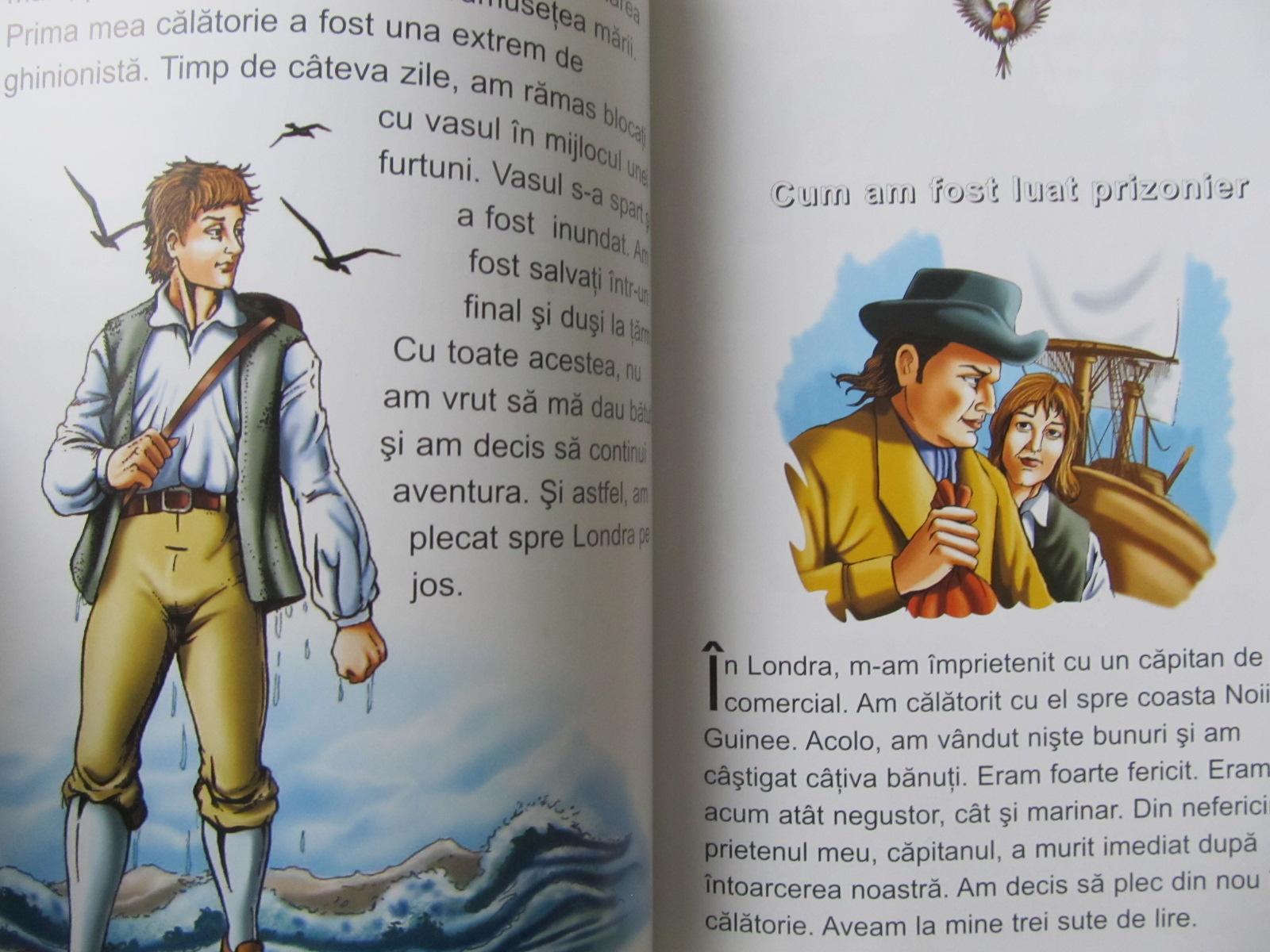 Carte Robinson Crusoe - dupa Daniel Defoe