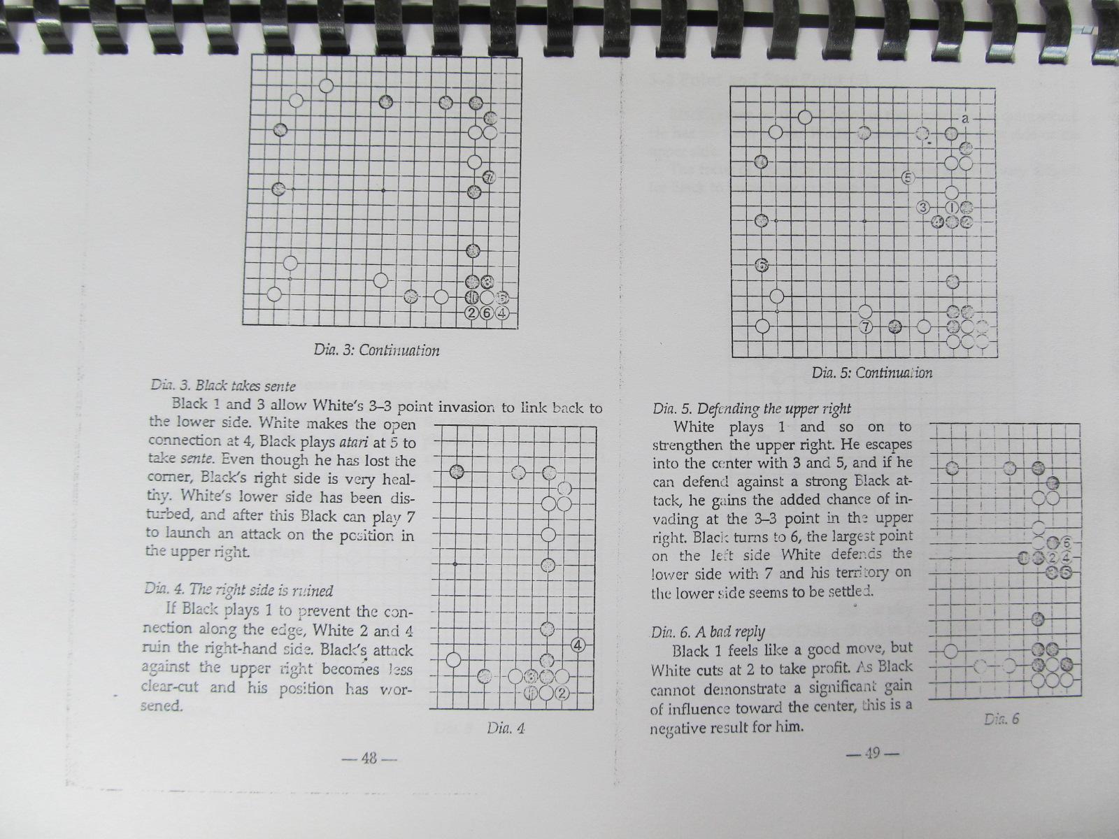 Carte The 3-3 point Modern Opening Strategy (Carte de Go xeroxata) - Cho Chikun