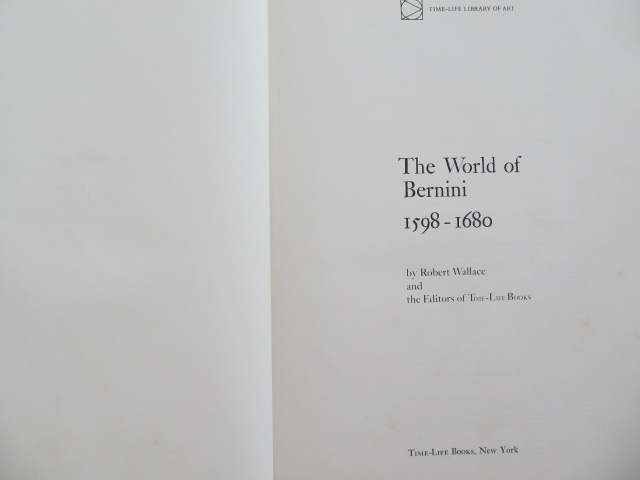 Carte The World of Bernini (album) - Robert Wallace