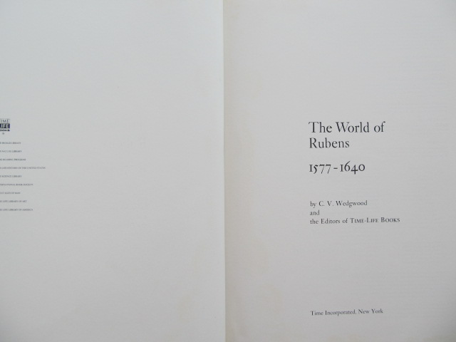 Carte The World of Rubens (album) - C. V. Wedgwood