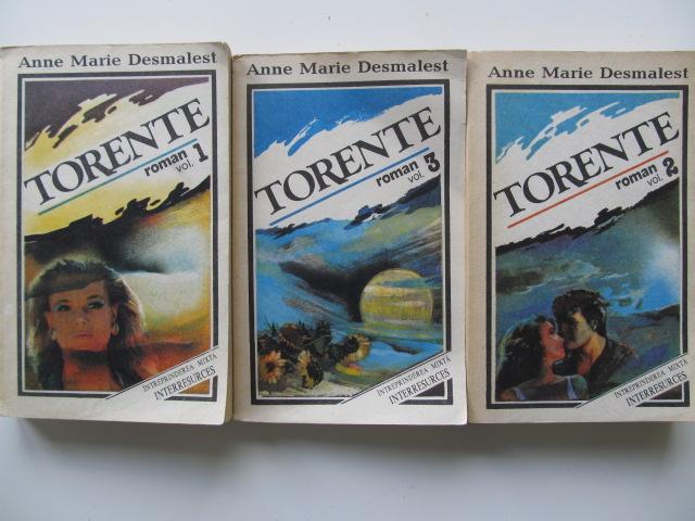 Carte Torente (3 vol.) - complet - Marie Anne Desmartes