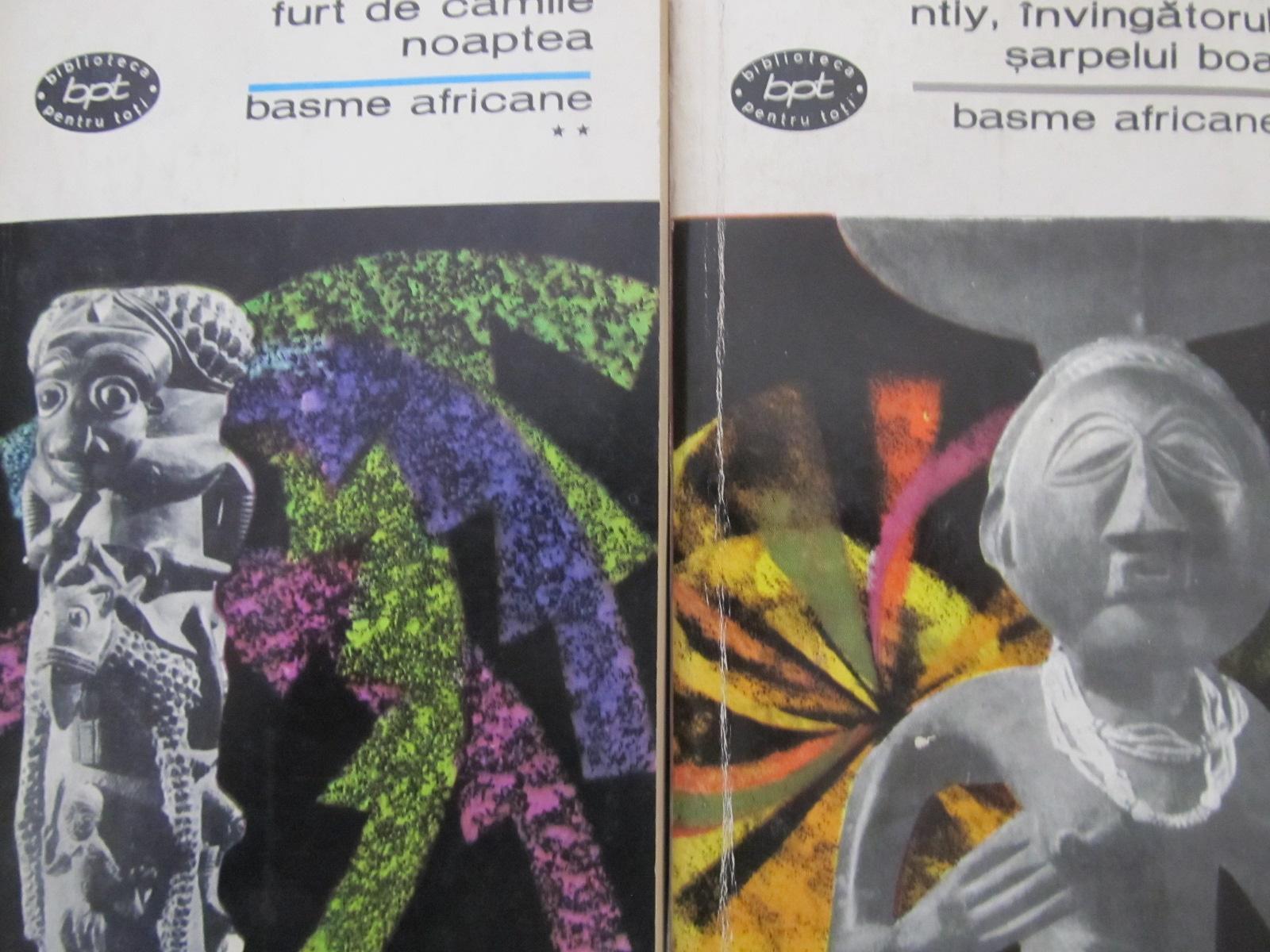 Basme africane - Ntiy , invingatorul sarpelui boa - Furt de camile noaptea  (2 vol.) - *** | Detalii carte